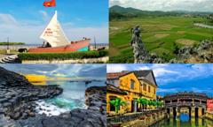 Những danh thắng đất Việt mà 'Hành trình kết nối' đi qua