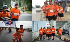 Các vận động viên nhà 'Cáo' truyền cảm hứng cho 'Hành trình kết nối'