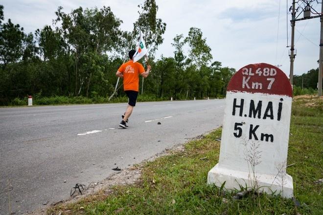 """Thị xã Hoàng Mai là địa điểm đầu tiên, mở đầu cho cung đường dài 64 km mà người nhà """"Cáo"""" sẽ đi qua trên xư Nghệ vào ngày mai (10/8)."""