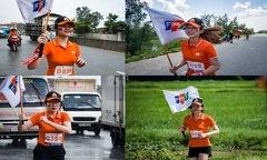 Người đẹp nhà 'Cáo' rạng rỡ khi chạy xuyên Việt