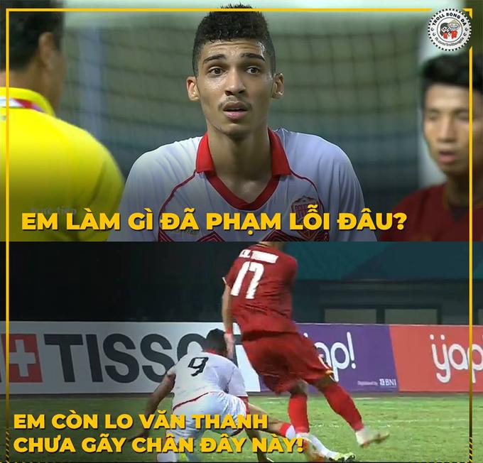 Pha phạm lỗi của cầu thủ đối phương nhận được nhiều ý kiến trái chiều của người hâm mộ... Họ cho biết cảm thấy buồn cho chiếc thẻ đỏ mà Sanad Ahmed phải nhận. Đặc biệt khi thấy cầu thủ này khóc lúc rời sân.