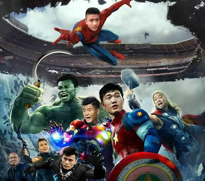 Đội hình Olympic Việt Nam hiện nay có sức mạnh như các chiến binh Avenger.
