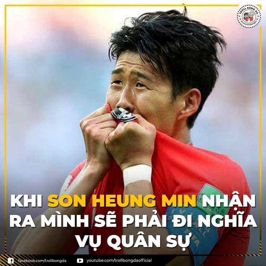 Đông đảo người hâm mộ hy vọng rằng ngôi sao của Olympic Hàn Quốc Son Heung Min sẽ bại trận trước Olympic Việt Nam.