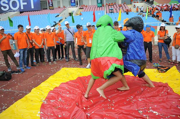 Cả 4 môn thi đấu được diễn ra đồng thời tại sân vận động quốc gia Mỹ Đình. Ở môn vật sumo, sau nhiều lượt thi đấu, đội tuyển FPT IS giành chiến thắng thuyết phục.