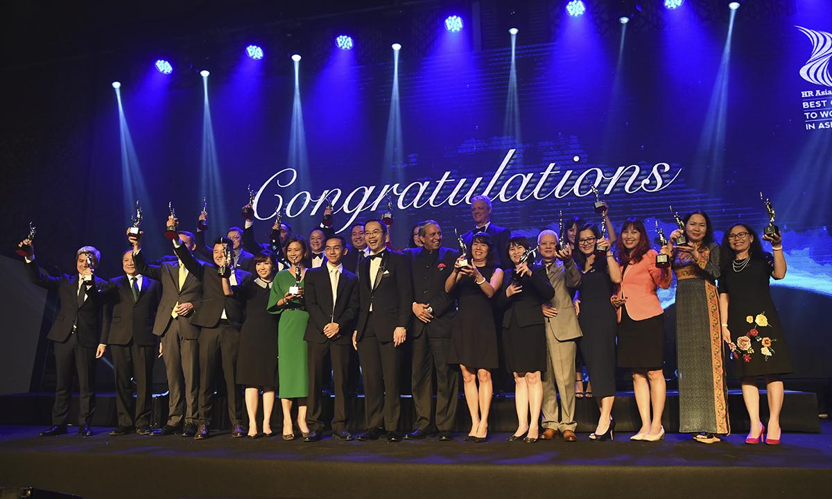 2018 là năm đầu tiên HR Asia Magazine, tạp chí hàng đầu dành cho các chuyên gia nhân sự, đưa Việt Nam vào danh sách các quốc gia khảo sát và vinh danh. Để có tên trong danh sách này, FPT đã vượt qua 4 vòng đánh giá của Ban tổ chức, gồm: vòng xét duyệt hồ sơ, vòng viết báo cáo, vòng phỏng vấn trực tiếp, vòng khảo sát CBNV. Sau 30 năm thành lập, từ 13 sáng lập viên đầu tiên, FPT hiện có hơn 33.000 CBNV với độ tuổi trung bình 28, hiện diện tại 33 quốc gia trên toàn cầu. Trong đó có 1.424 CBNV người nước ngoài với 29 quốc tịch. Trong 10 năm gần đây, quy mô nhân sự của FPT luôn tăng trưởng gần 16%/năm. Dự kiến trong giai đoạn 2018-2020, FPT vẫn giữ vững mức tăng trưởng khoảng 18% và đạt quy mô hơn 50.000 người vào năm 2020.