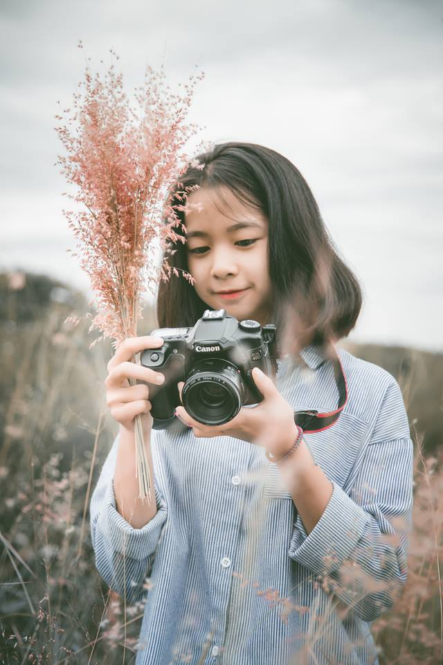 Cô gái gốc Phú Yên có niềm đam mê du lịch từ nhỏ nên đã quyết tâm theo học ngành hướng dẫn viên.