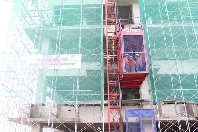Công trình được xây dựng tại Lô E2a-7, đường D1, Khu Công nghệ cao (phường Long Thạnh Mỹ, quận 9, TP HCM) với tổng diện tích sàn 29.926m2.