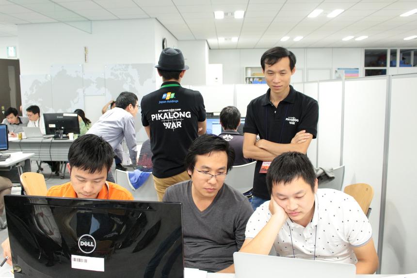 Anh Lương Huy Khoa (FPT Japan KRL-D) đánh giánăng suất và chất lượng lập trình của các đội Nhật tham gia Pikalong War rất cao.