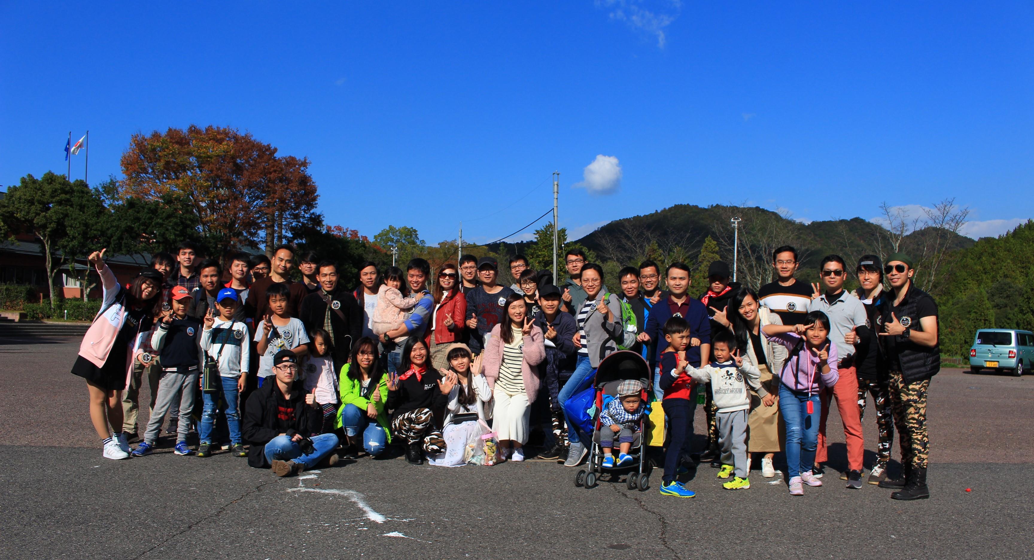 """Hơn 50 CBNV văn phòng Osaka đã có chuyến dã ngoại cùng nhau trong chương trình """"Lên đỉnh 13"""" để kỷ niệm sinh nhật 13 tuổi của FPT Japan trong 2 ngày 10-11/11."""