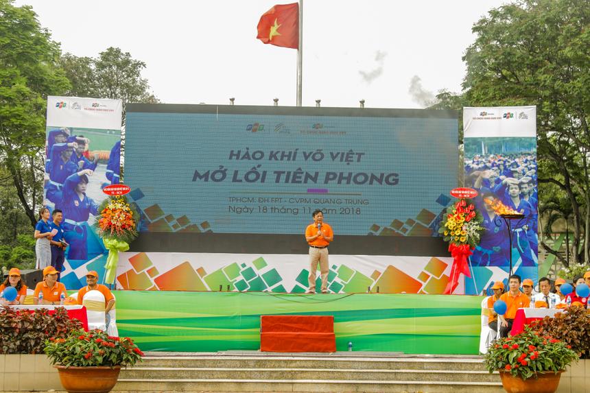Tổ chức Giáo dục FPT là đơn vị đầu tiên đưa Vovinam vào giảng dạy với vai trò bộ môn giáo dục thể chất chính thức cho tất cả sinh viên, đồng thời sở hữu võ đường Vovinam lớn nhất Việt Nam tại ĐH FPT Hòa Lạc. Năm 2013, Giải vô địch Vovinam ĐH FPT mở rộng được FPT Edu đăng cai tổ chức với sự tham gia của sinh viên đến từ 13 trường đại học, cao đẳng.