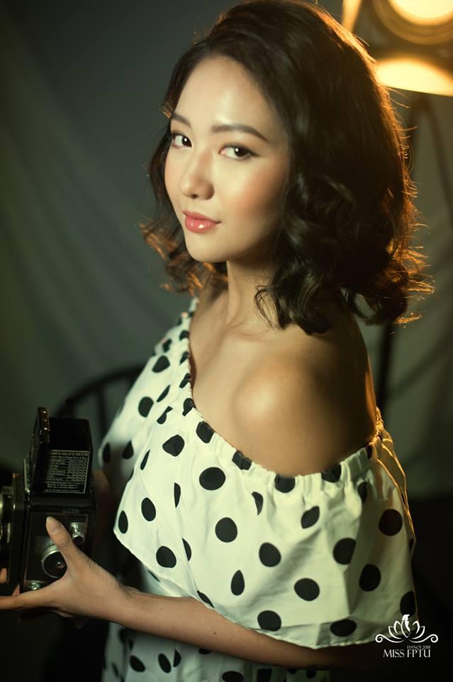 Mới đây, Bảo Ngọc đã vượt qua vòng sơ khảo cuộc thi Miss FPTU 2018 để lọt vào Top 15 thí sinh cuối cùng. Cô bạn sẽ tham gia tranh tài trong đêm chung kết diễn ra tại Baara Land Resort (Quốc Oai, Hà Nội) vào ngày 2/12 tới.