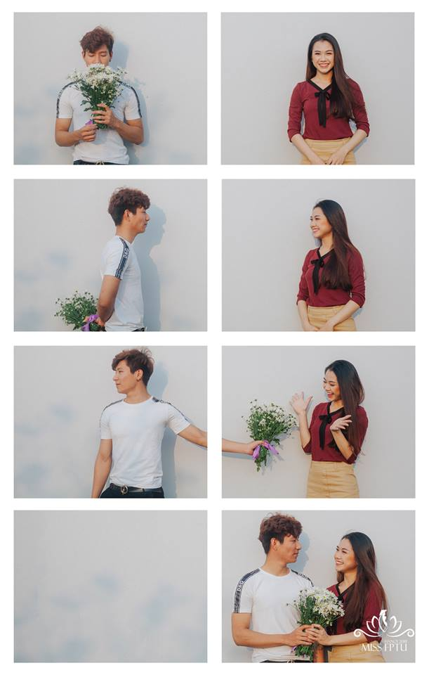 """Nguyễn Thị Thơ - Ngô Minh Hải Concept: """"Chào cậu! Partner của tớ"""" """"Đối với tớ, partner đơn giản lắm Partner..... Là khi hai người cùng nhau đi trên một con đường Là khi chúng ta cùng nhìn về một vạch đích"""""""