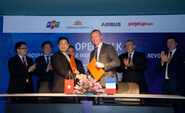 Tháng 12/2017, FPT là một trong những đối tác đầu tiên phát triển công nghệ trong lĩnh vực hàng không dựa trên nền tảng công nghệ Skywise của Airbus.