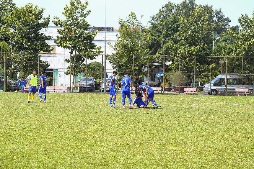 Hiệp một trận đấu khép lại mà không có bàn thắng nào được ghi. Hai đội tạm rời sân với tỷ số hòa không bàn thắng.