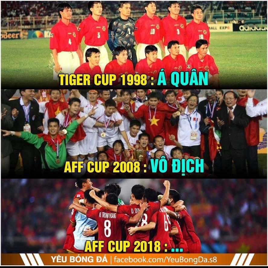 Chu kỳ thành công của bóng đá Việt Nam...