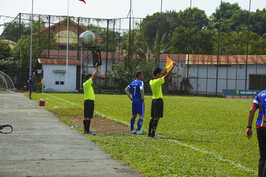 Bước ngoặt của trận đấu chỉ đến ở phút 60 khi FPT Telecom tung cầu thủ số 7 Võ Đình Hảo vào sân để tăng cường khả năng tấn công.
