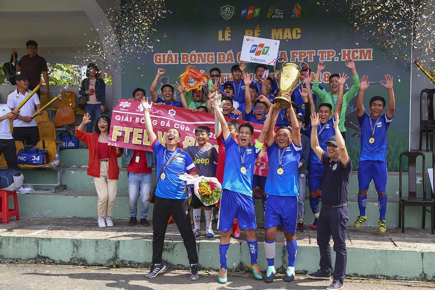 Đây là lần thứ hai liên tiếp và là lần thứ 10, FPT Telecom đăng quang ngôi vương FFA Cup HCM.