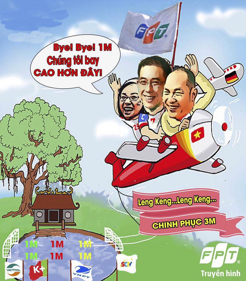 Nhân vật chính trong bộ ảnh là Chủ tịch FPT Telecom Chu Thanh Hà, CEO FPT Telecom Hoàng Việt Anh và PTGĐ FPT Telecom Nguyễn Hoàng Linh.