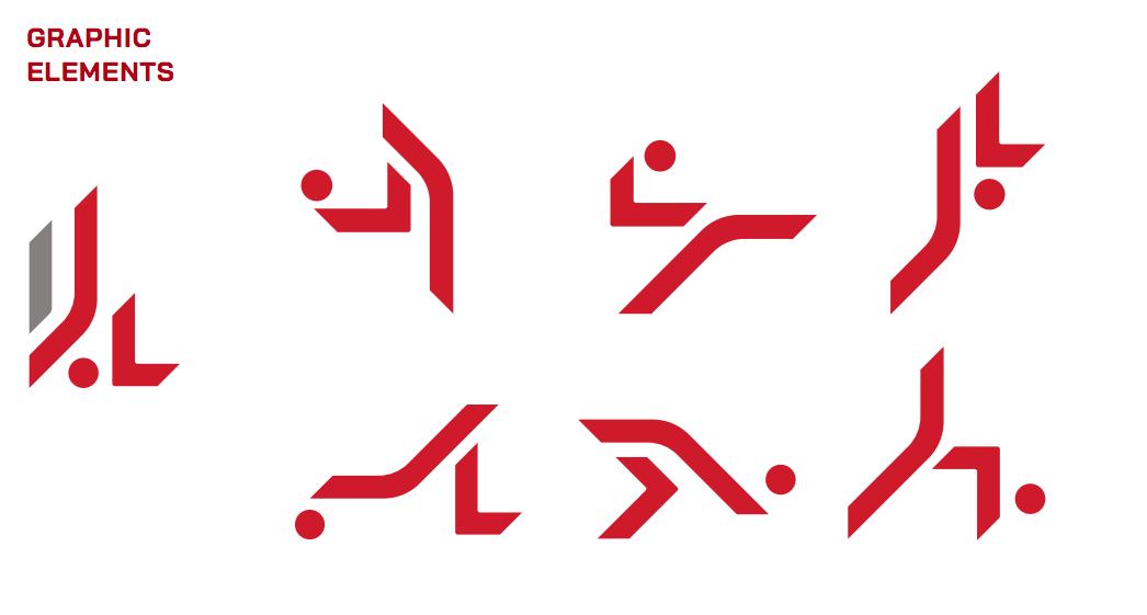 Logo mới được cụ thể hóa thành các động tác khống chế bóng dưới dạng cách điệu.