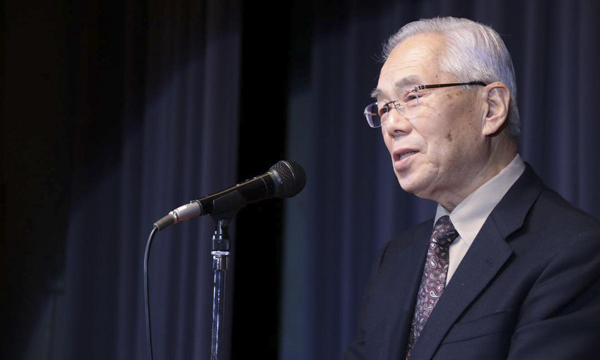 Khai mạc phần tiệc liên hoan, Cố vấn cấp cao FPT - cụ Ogawa Takeo đã thực hiện nghi thức kanpai trước khi cùng bùng cháy với CBNV FPT Okinawa.