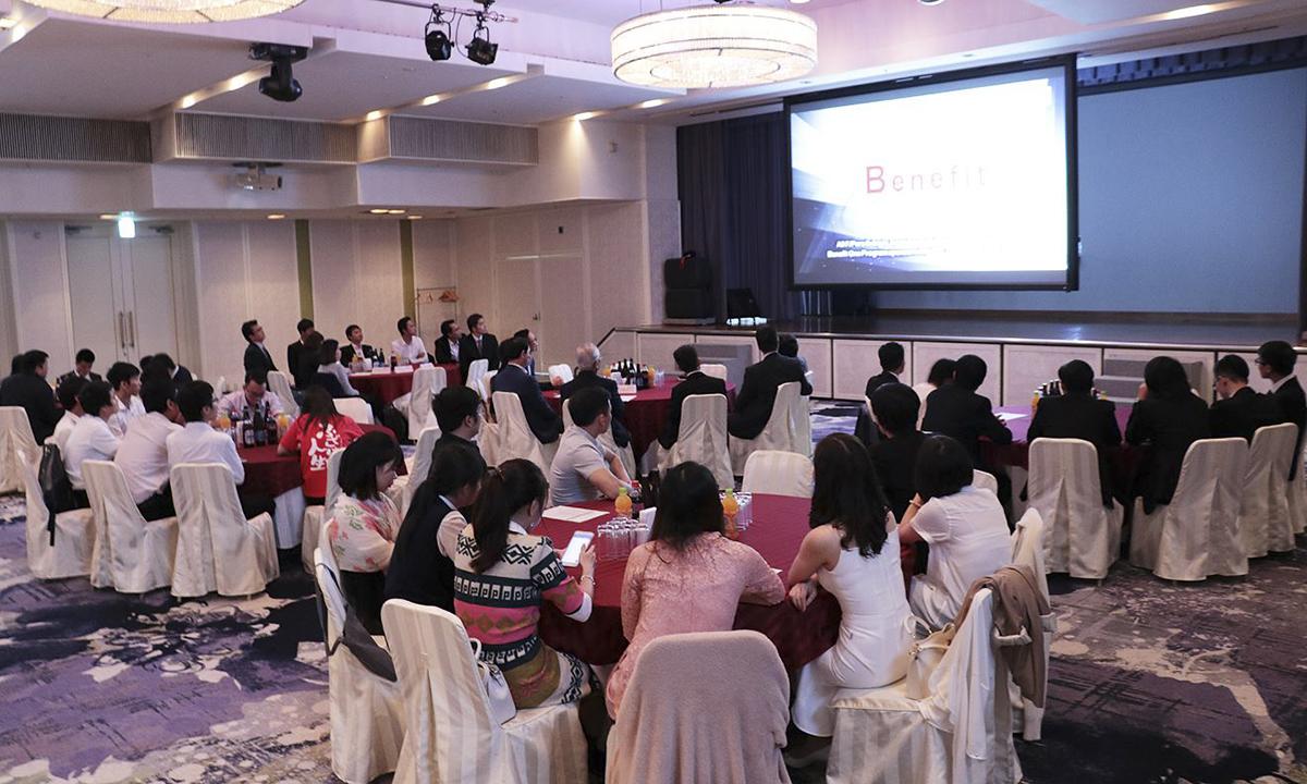 Lễ tổng kết hoạt động sản xuất kinh doanh năm 2018 của FPT OkinawaR&D (Trung tâm nghiên cứu và phát triển Okinawa, trực thuộc FPT Japan) đã diễn tối 12/1 tại Khách sạn Double Tree by Hilton, thành phố Naha, tỉnh Okinawa.