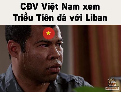 Việt Nam đổ dồn sự quan tâm vào trận Triều Tiên - Lebanon và chờ đợi kết quả trận đấu kết thúc theo hướng có lợi cho đội tuyển nước nhà.