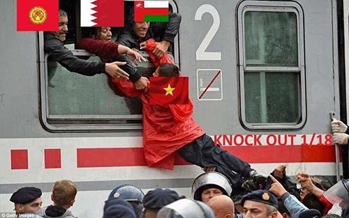 Đội tuyển Việt Nam đã giành được tấm vé cuối cùng để lên chuyến tàu vào vòng sau, theo một cách hết sức kịch tính