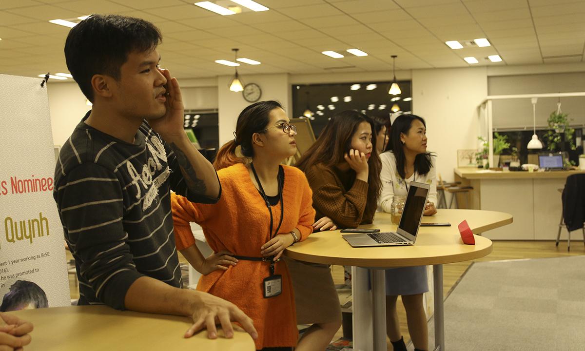Nhân vật bí mật đóng vai anh Trần Đăng Hòa cho biết cái khó duy nhất là làm sao thể hiện được thần thái dứt khoát của nguyên CEO FPT Japan.