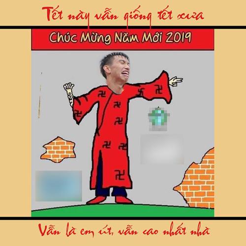 """Hậu vệ Văn Hậu vẫn """"cao nhất nhà""""."""