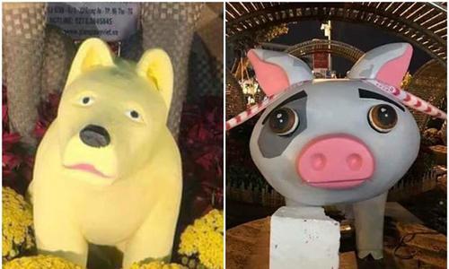 Dân mạng chế ảnh lợn siêu nhân