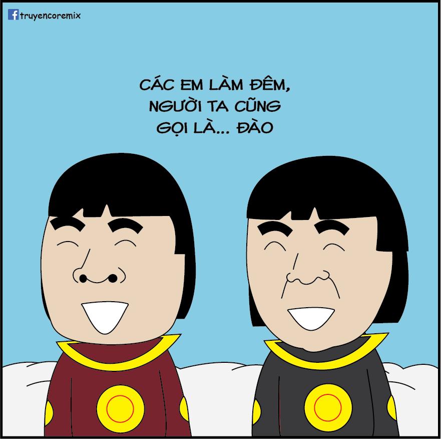 Hai thiên lôi phó do nam diễn viên trẻ Trung Ruồi, Đỗ Duy Nam đảm nhận phần đầu chương trình tạo nhiều tiếng cười sảng khoái cho người xem bởi cách tung hứng dí dỏm, hài hước.
