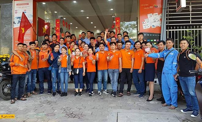 'Cáo' Quảng Ngãi cũng tổ chức buổi gặp mặt đầu năm vào ngày 10/2. Dịp này, chi nhánh còn ra quân bán hàng và tri ân khách hàng...