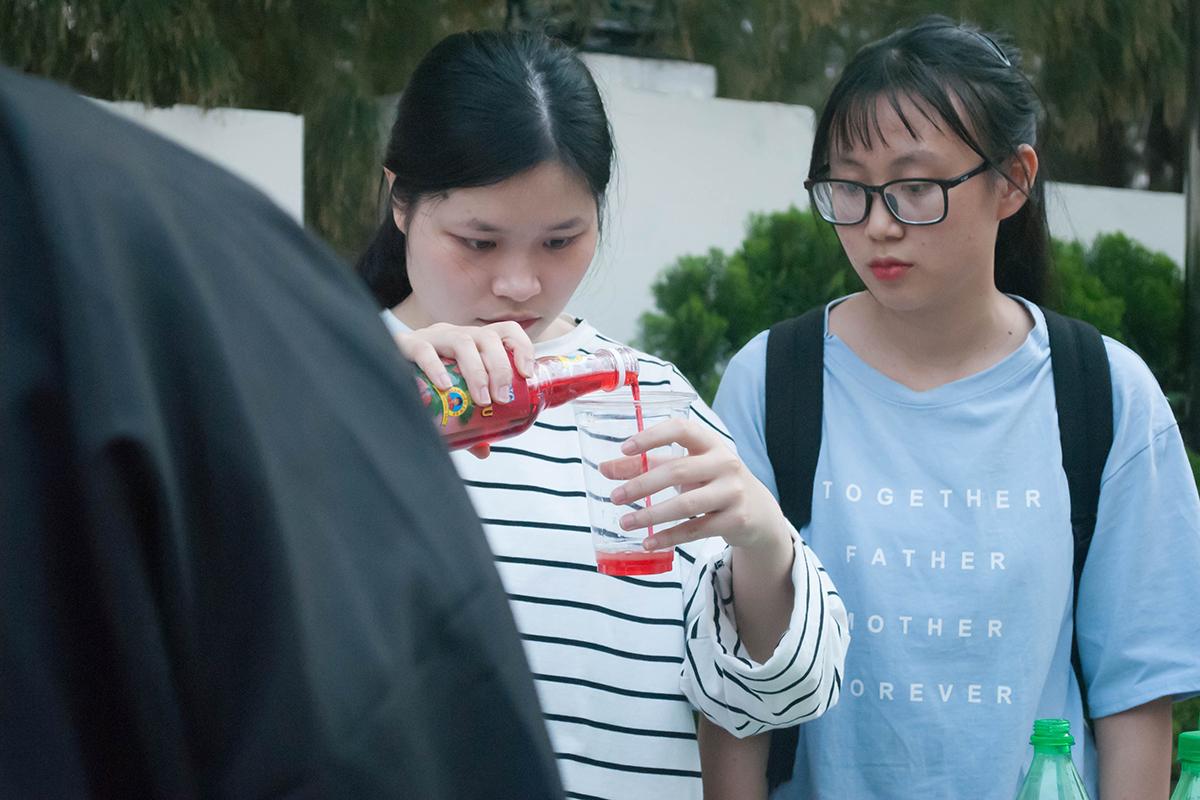 Điểm nhấn là phần triển lãm văn hóa đặc trưng Việt Nam - Nhật Bản. Học sinh và sinh viên còn tham gia một số trò chơi truyền thống, nhiều điệu nhảy của các nước và thưởng thức gian hàng ẩm thực.