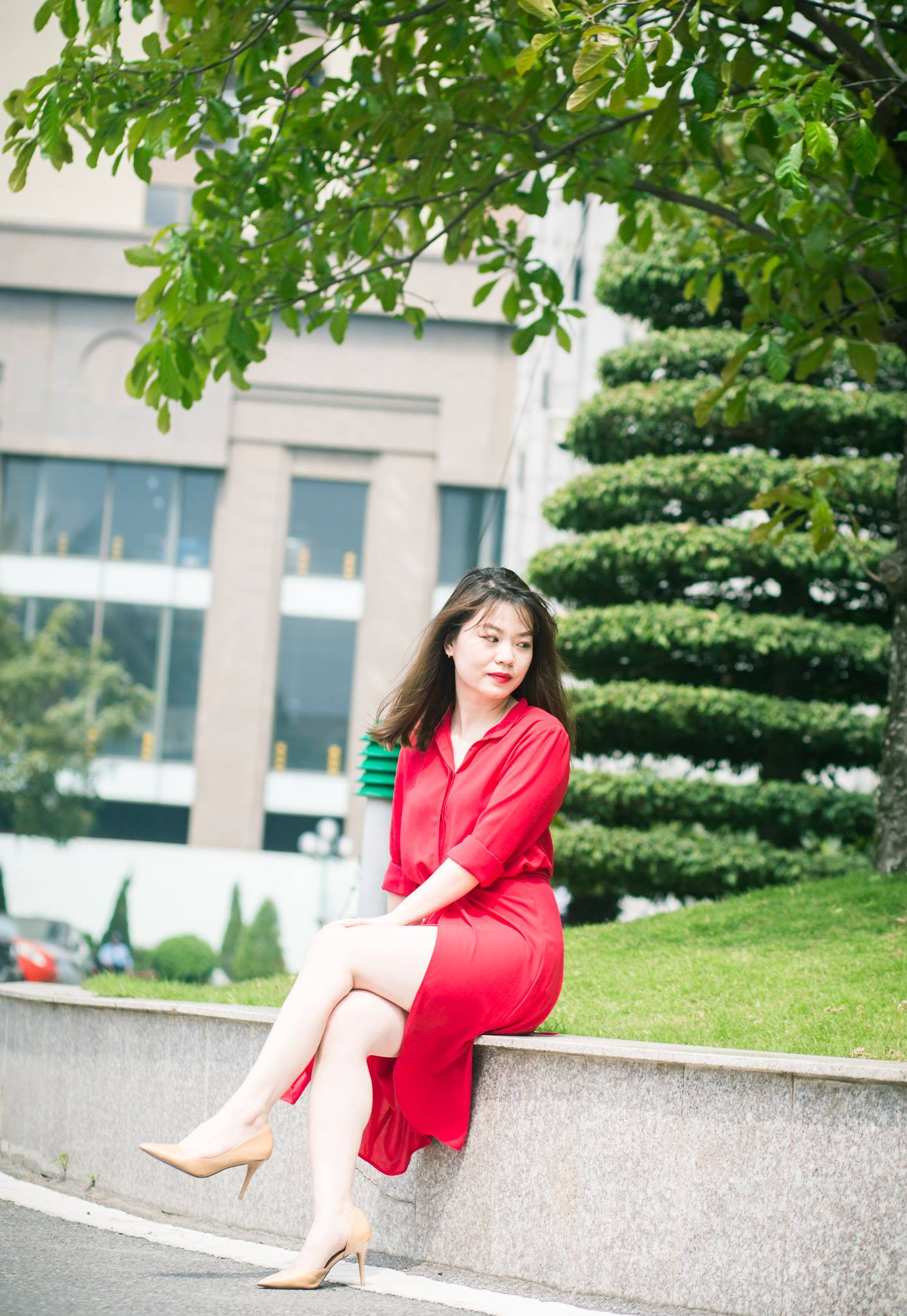 Nguyễn Ánh Dương (FHN.TCS) là người vui vẻ thích đi du lịch.