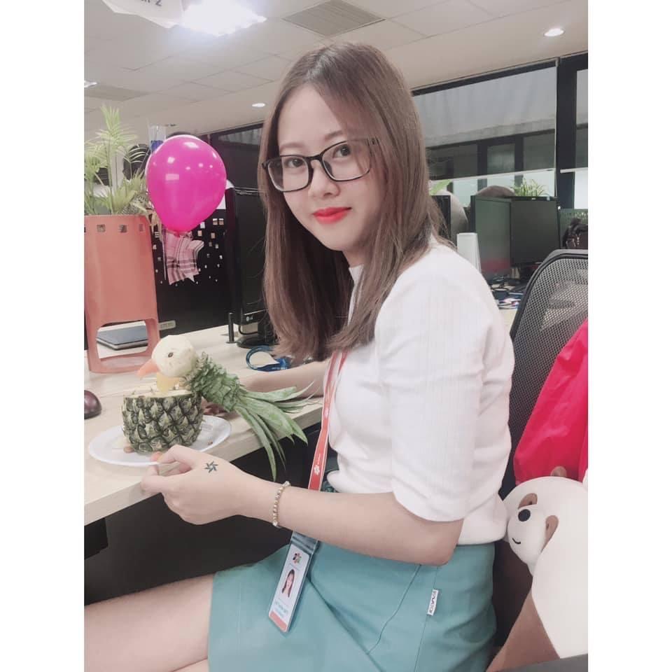 Trịnh Thị Tuyết Mai (FHN.LGS) là người khéo tay và mê vào bếp.