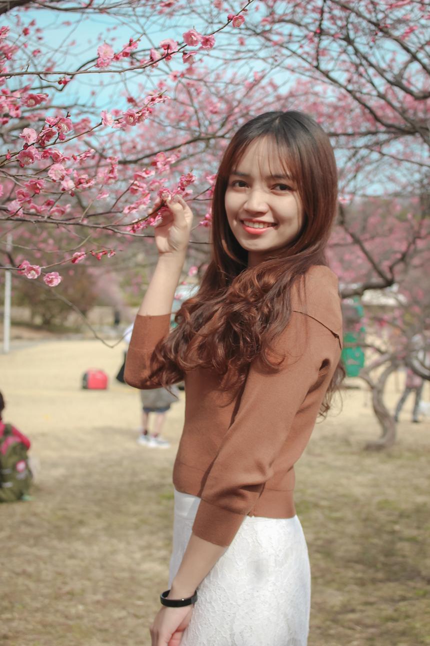 """Với quan niệm """"đi một ngày đàng, học một sàng khôn"""", Linh đã có những trải nghiệm thú vị tại đất nước mặt trời mọc với hai thành phố lớn là Tokyo và Nagoya. Theo nữ nhân viên, hai thành phố kể trên có những nét đẹp riêng, tạo cảm giác hứng thú khi đặt chân đến."""