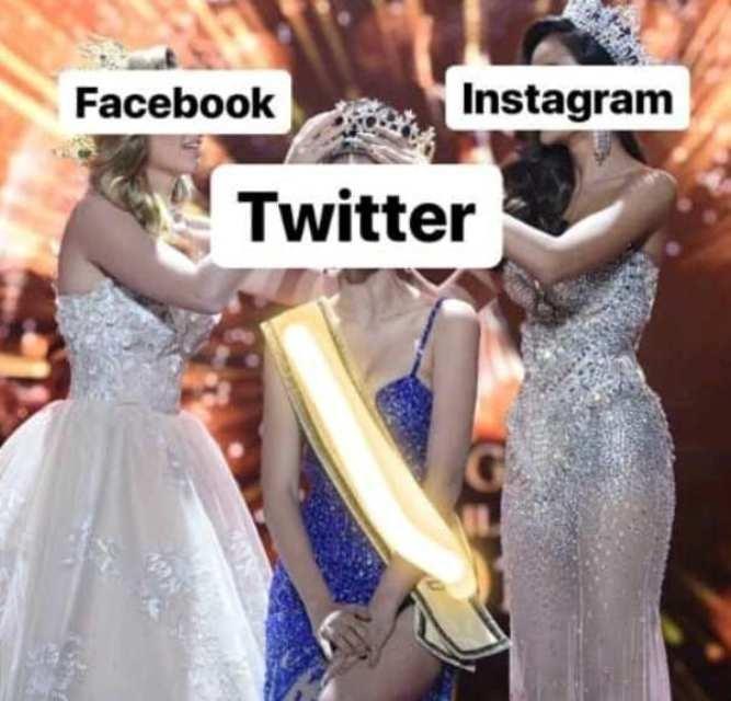 """Twitter trở thành """"hoa hậu"""" mạng xã hội của ngày hôm nay."""