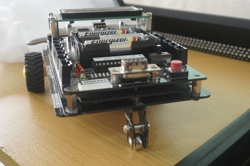 Diễn giả Tatsumasa Kitahara đã giải thích về cách vận hành và điều khiển robot. Nội dung về công nghệICT bao gồm tất cả các phương tiện kỹ thuật được sử dụng để xử lý thông tin và trợ giúp liên lạc, bao gồm phần cứng và mạng máy tính, liên lạc trung gian cũng như là các phần mềm cần thiết.