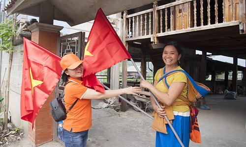 Người dân Vị Xuyên: 'Tôi tự hào mỗi khi nhìn lá cờ tổ quốc'