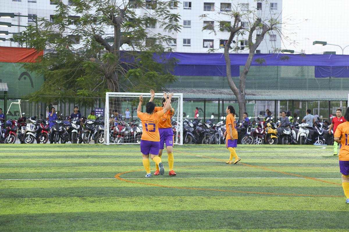 Thời gian còn lại của trận đấu dù tạo được nhiều cơ hội nhưng các cô gái FFE không ghi thêm bàn thắng. 3-1 cũng là tỷ số chung cuộc của trận đấu.