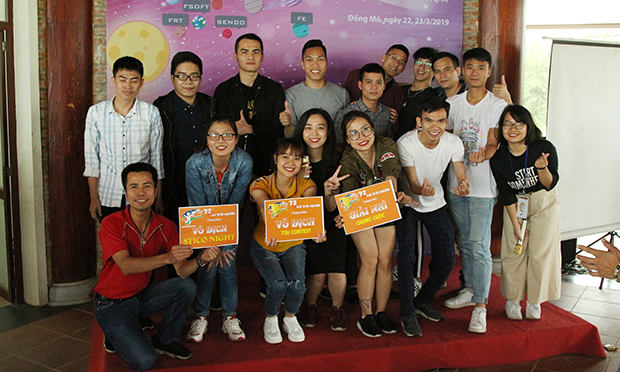 """Giải Nhì chương trình được trao cho đội Kim Tinh khi đã xuất sắc giành giải ngôi đầu trong 2 phần thi """"STCo Night"""" và """"72h contest""""."""