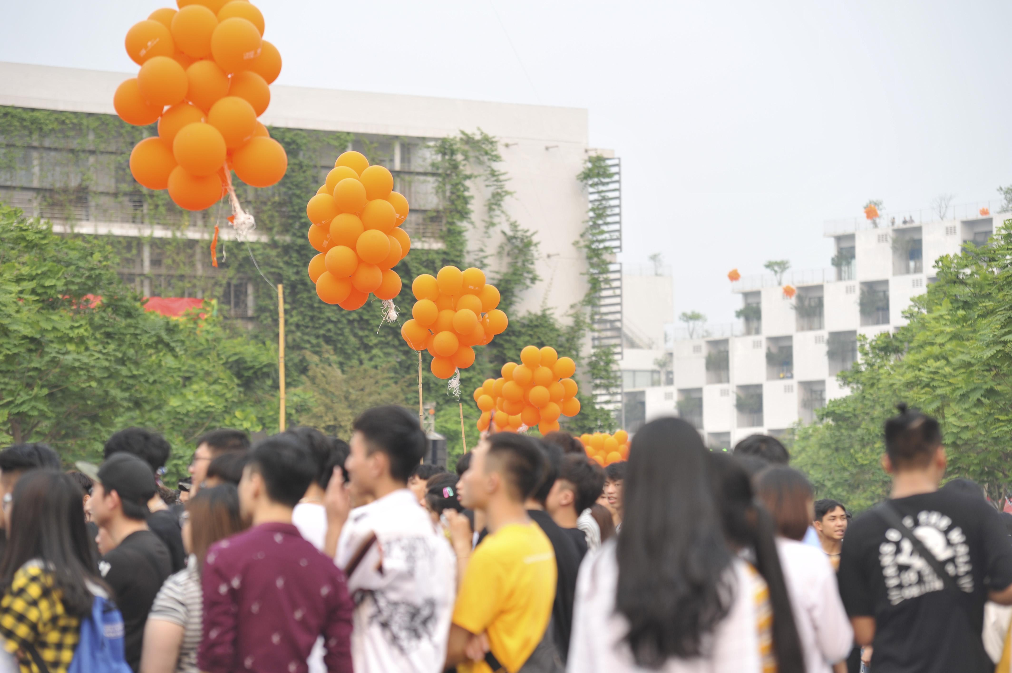 Thành phần hào hứng tham gia chương trình chủ yếu là học sinh từ 200 trường THPT từ Hà Nội, Hải Phòng, Nam Định, Thái Bình, Hải Dương, Bắc Ninh… và học sinh, sinh viên FPT.