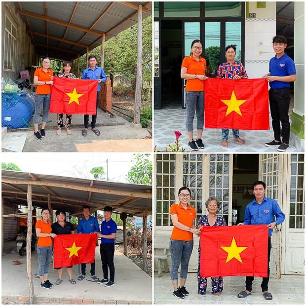 Người Ninh Điền sinh sống chủ yếu bằng nghề trồng lúa nước và chăn nuôi. Những hộ nghèo không có đất canh tác chỉ biết làm thuê kiếm sống qua ngày.Đoàn FPT kết hợp UBND, Đoàn thanh niên địa phươngđã đi dọc theo các tuyến đường, thăm và trao tận tay các gia đình200 cờ Tổ quốc.
