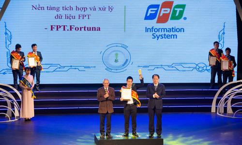 FPT có 8 sản phẩm, dịch vụ CNTT được tôn vinh tại Sao Khuê 2019