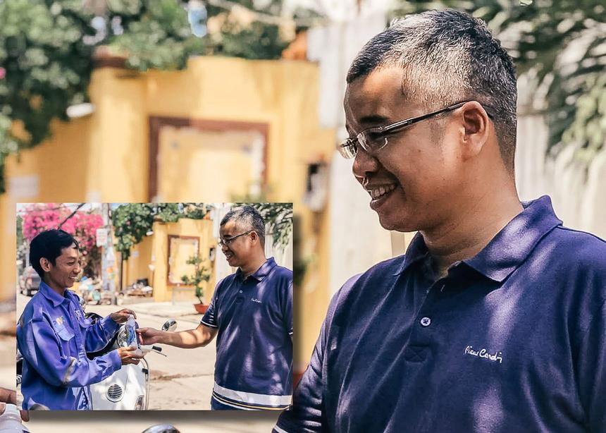 Trong lúc đi thăm hỏi, động viên và tiếp nước cho các thành viên nhà Phương Nam, lãnh đạo Phương Nam cũng đã tặng những chai nước mát cho các nhân viên của Viettel, VNPT đang tác chiến gần đó. Mặc dù đây chỉ là một hành động nhỏ nhưng rất có ý nghĩa đối với các anh em giữa những ngày nắng như thêu, như đốt của Sài Gòn.