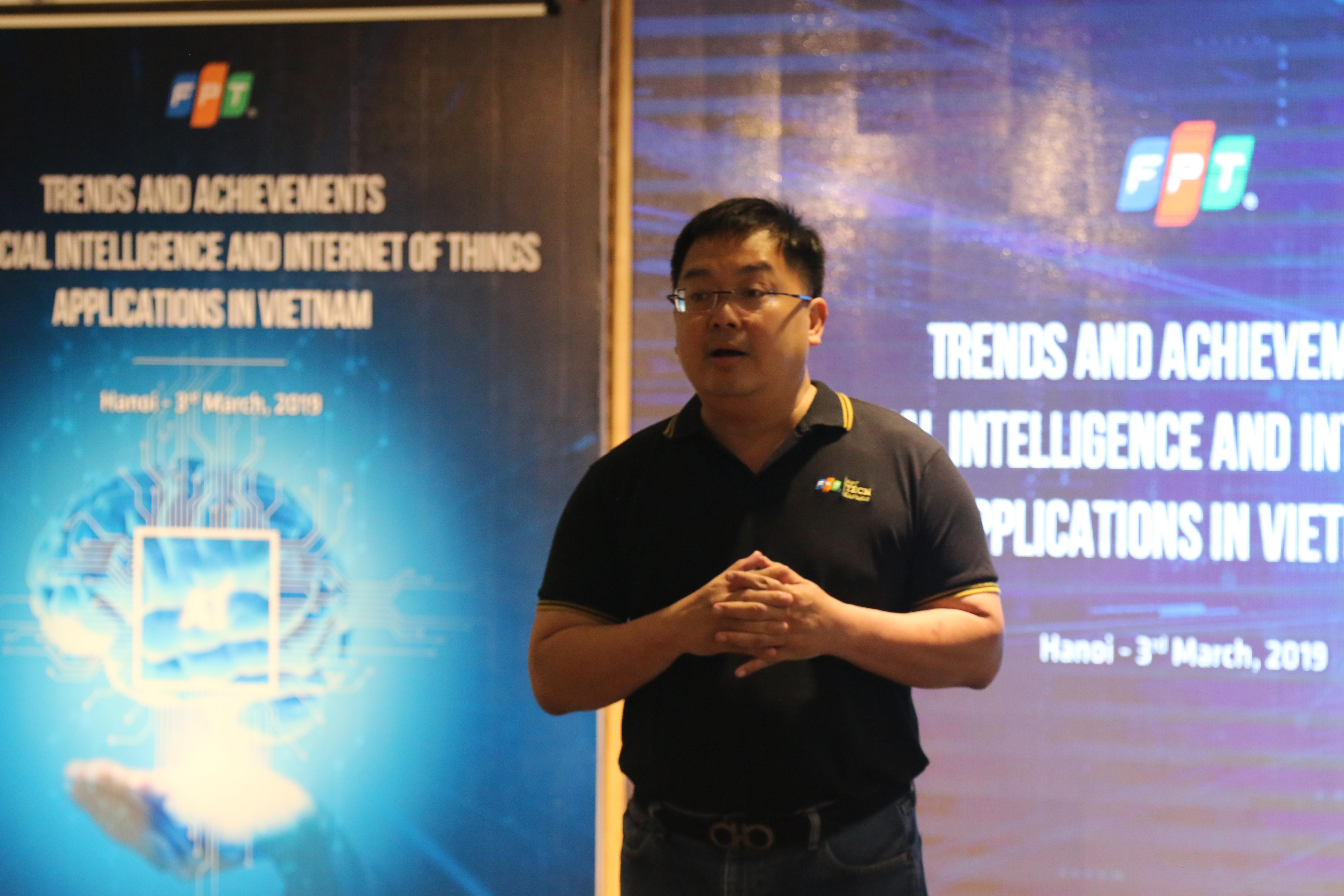 """FPT Software tổ chức sự kiện này nhằm kết nối các nhà khoa học Việt Nam đang làm việc tại nước ngoài cùng hợp tác nghiên cứu công nghệ mới. Từ đó, thúc đẩy phát triển nền kinh tế số của Việt Nam, góp phần nâng cao vị thế của Việt Nam trong cuộc cách mạng công nghiệp lần thứ 4. """"Chúng tôi đã quyết tâm đầu tư vào những hướng mới AI, Robotic, xe không người lái... Khoảng 20% doanh thu của chúng tôi là làm về chuyển đổi số với những hướng công nghệ mới nhất"""", Chủ tịch FPT Software Hoàng Nam Tiến khẳng định. Người đứng đầu FPT Software mong muốn tạo ra môi trường, điều kiện để làm sao tập hợp được nhiều nhà khoa học người Việt trên toàn cầu, góp phần xây dựng các nền tảng công nghệ cho Việt Nam đưa công nghệ vào những ngành mà Việt Nam còn thiếu như nông nghiệp, thủy sản, may mặc, da giầy... Anh Tiến nhận định: """"Công nghệ sẽ tạo ra bệ phóng, vũ khí để Việt Nam đuổi kịp, đi cùng và đi ngang với những nước tiên tiến trên thế giới""""."""