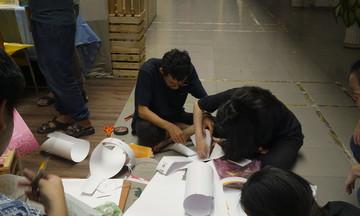 Triển lãm đồ họa, sinh viên FPT gây ấn tượng với ý tưởng lớn