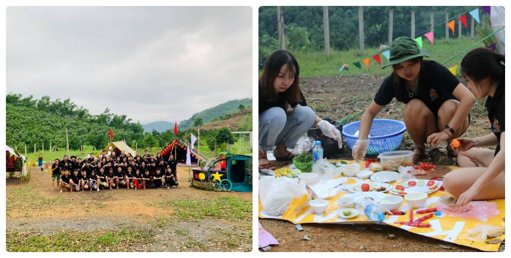 Đến 16h30, các thành viên sẽ phải chuẩn bị bữa ăn tối từ những thực phẩm mà ban tổ chức đã cung cấp. Sau khi chế biến, tiểu đội phải thuyết trình món ăn đó và lều trại của mình.