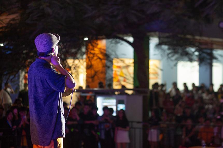 Thái Sơn Beatboxer chắc chắn là cái tên không còn quá xa lạ với giới trẻ. Cựu sinh viên ĐH FPT cơ sở Đà Nẵng theo đuổi beatbox từ rất sớm, và đã giành hàng loạt giải thưởng gắn với beatbox như Vô địch Omo's Got Talent, top 8 Loopstation giải thế giới (Grand Beatbox 2018), huy chương vàng Music Talent 2011… Anh cũng là khách mời các chương trình và gameshow lớn của Việt Nam như: Ca sĩ giấu mặt, Hòa âm Ánh sáng, Sao Mai điểm hẹn, Ca sĩ giấu mặt, Cặp đôi hoàn hảo, VN's Got Talent….