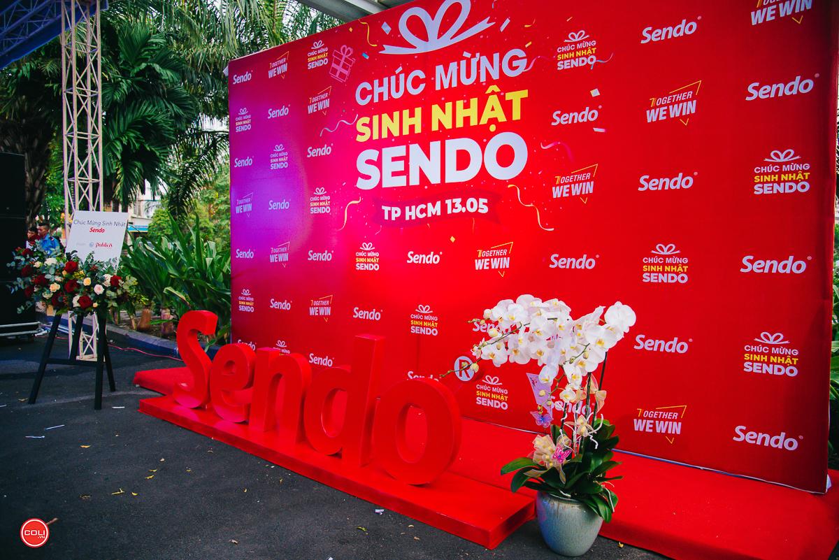 Sen Đỏ vừa tổ chức tiệc sinh nhật 7 tuổi (13/5/2012-13/5/2019) sảnh G tòa nhà Tân Thuận 2 (TP HCM).